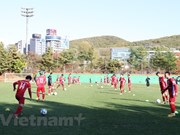 National football team ready for friendly matches in RoK