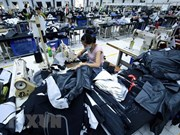 Imports of clothing materials see strong growth