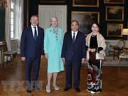 Prime Minister Nguyen Xuan Phuc meets with Danish Queen