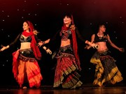 Ninh Binh hosts Ahlan International Belly Dance Festival