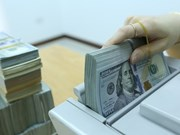 Reference exchange rate down on week's beginning