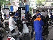 Petrol prices down slightly, those of oil unchanged