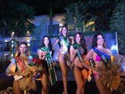 Miss Vietnam wins silver medal in Miss Earth swimsuit sub-contest