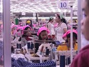 Cambodia's garment exports increase 10.73 percent in H1