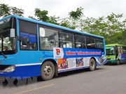 Hanoi bus company attracts more passengers