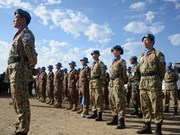 Vietnam peacekeepers attend UN Day celebrations in South Sudan