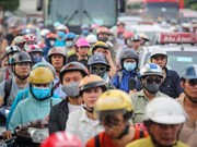 Hanoi seeks ways out of traffic jams
