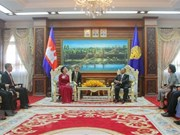 Party official vows to foster traditional friendship with Cambodia