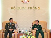 Vietnam, Cambodia promote military information cooperation