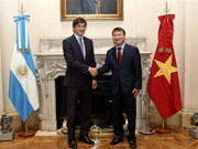 Vietnam, Argentina step up economic-trade cooperation