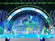 Ninh Binh opens national culture, sports, tourism festival