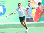 Host players win men's doubles title at Vietnam F4 Futures