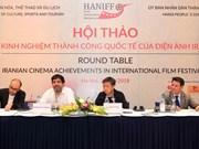 Vietnam, Iran exchange cinema development experience