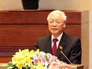More congratulations to President Nguyen Phu Trong from foreign leader