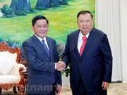 Lao leaders value ties between LPRP, CPV's inspection agencies