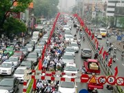 Hanoi permitted to collect fees in congested areas