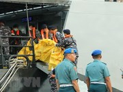 Indonesia steps up identification of plane crash victims
