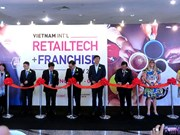 10th Vietnam Int'l Retailtech & Franchise Show underway