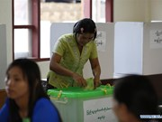 Myanmar holds parliamentary by-election