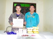 Lao drug traffickers arrested in Dien Bien
