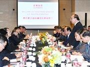 PM talks with leading Chinese groups