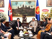 HCM City vows to strengthen Vietnam-Cambodia ties