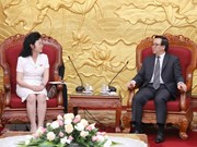 Party official receives delegation of DPRK women's union