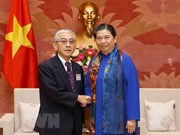 NA Vice Chairwoman receives Japanese guests