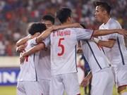 Vietnam is third youngest squad at AFF Suzuki Cup 2018