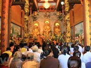 Coordinating board of Vietnam Buddhist Sangha in Laos debuts