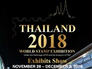 Thailand 2018 World Stamp Exhibition in Bangkok