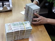 Reference exchange rate ups 2 VND at week's start