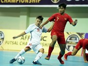 Vietnam ranks fourth at AFF futsal champs
