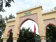 Gate renovated to strengthen Vietnam-Morocco friendship