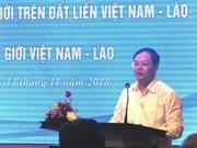 Conference talks realisation of Vietnam-Laos border treaties