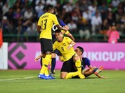 Malaysia, Myanmar win, pushing Vietnam to 3rd place in Group A