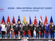 PM joins ASEAN-India Informal Breakfast Summit in Singapore