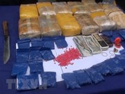 Son La: 12 bricks of heroin, 36,000 meth pills seized