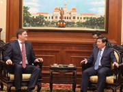 HCM City mayor hosts Polish Ambassador