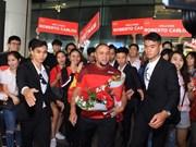 Brazil football legend Roberto Carlos visits Vietnam