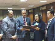 Hanoi delegation on Egypt visit