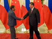 Chinese President begins State visit to Philippines