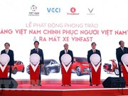 Prime Minister witnesses debut of VinFast automobile models