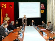 German party delegation learn about plight of Vietnamese AO victims