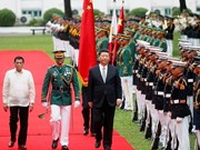 China, Philippines agree to upgrade relations