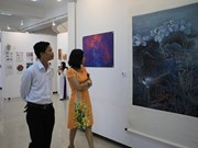 Int'l exhibition in Hue features over 80 artworks