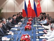 Philippines, China agree to step up legislative exchanges