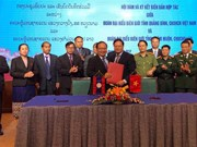 Quang Binh enhances border defence-security cooperation with Laos