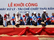 Work begins on waste-to-energy plant in HCM City