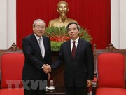 Party economic commission head receives Japanese SMBC leader